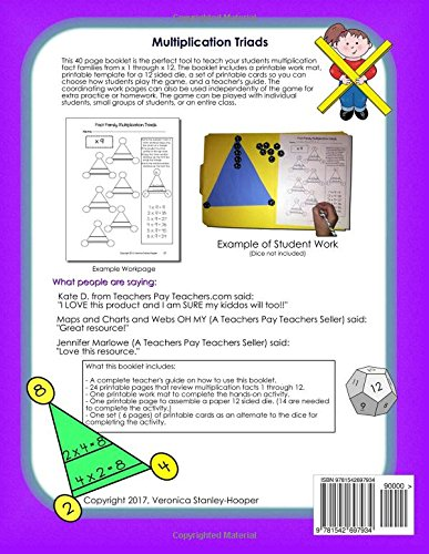Multiplication Triads: A Hands-On Approach to Learning ...
