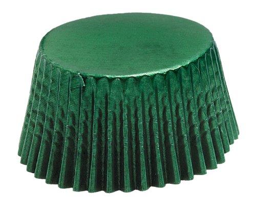 Fox Run 6951 Green Foil Bake Cups, Regular