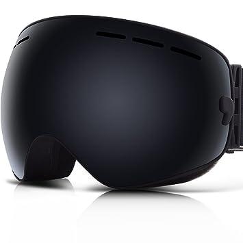 ski snowboard goggles  Amazon.com : Ski Goggles, YAKAON Y1 Ski Snowboard Goggles with ...