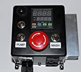 120v Electric Mash Tun / RIMS (Recirculating Infusion Mash System) Tube Controller with Pump Control