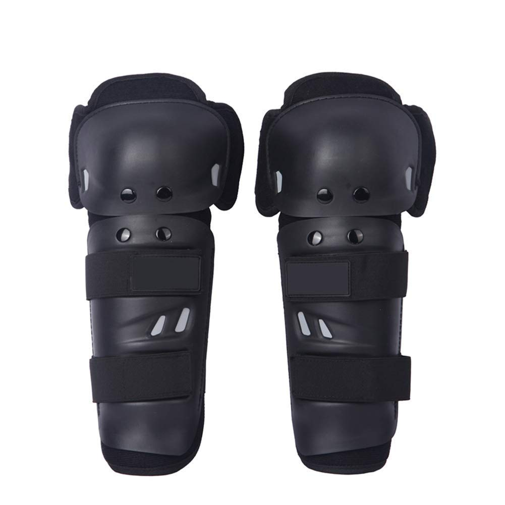 QEES Protective Knee Pads for Motorcycle Riding, Skate Rollerblading, Skating, Skateboard, Scooter, Biking, Cycling Outdoor Shin Guards