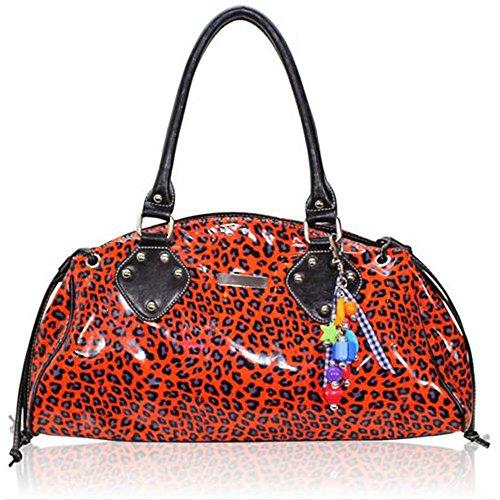 TrendStar - Bolso estilo cartera para mujer R - Orange
