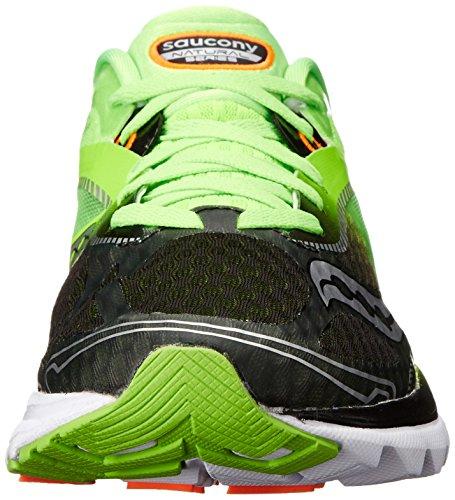 Saucony Kinvara 7, Scarpe da Corsa Uomo Verde (Slime/Black)