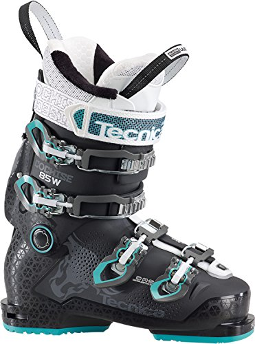 Tecnica Cochise 85 Ski Boot Women's Black/Blue 25.5 (Tecnica Ski Boots Mountain)