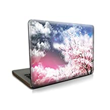 """[MacBook Hard Case] Vati Beautiful clouds New Art Fashion Ultra Slim Light Weight Rubberized Smooth Matte Finish Crystal Snap-On Hard Shell Protective Cover for Apple MacBook Pro 13.3"""" inch (A1278)"""