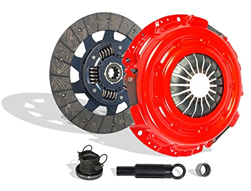 "Clutch Kit Works With Dodge Dakota Ram 1500-3500 B 150-250 1500-35 SXT TRX4 Sport 1994-2009 5.9L V8 GAS OHV Naturally Aspirated (Stage 1; Clutch Kit Works With 11"" Clutch; Flywheel Spec: Flat;)"