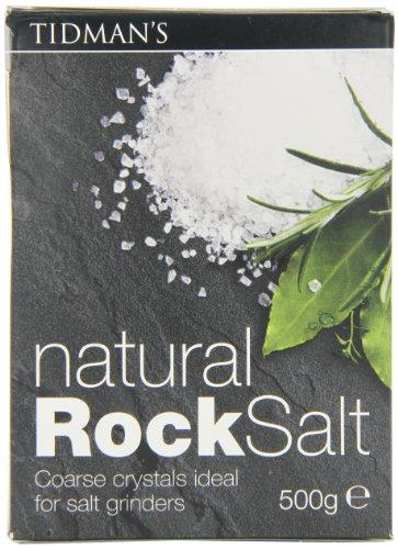 Tidmans Rock Salt, 17.63-Ounce Units (Pack of 4) ()