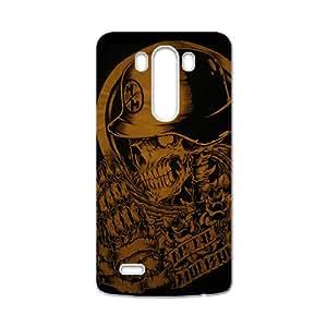 YYYT Rockband guitar legend skull Cell Phone Case for LG G3