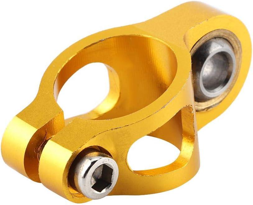 EBTOOLS Lenkungsd/ämpfer Universal-Aluminiumlegierung Motorradlenker Lenkungsd/ämpfer Stabilisator Sicherheitssteuerungszubeh/ör Blau
