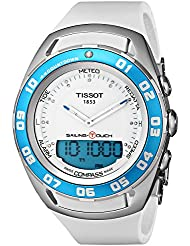 Tissot Womens TIST0564201701600 Sailing-Touch Digital Analog Dial Watch