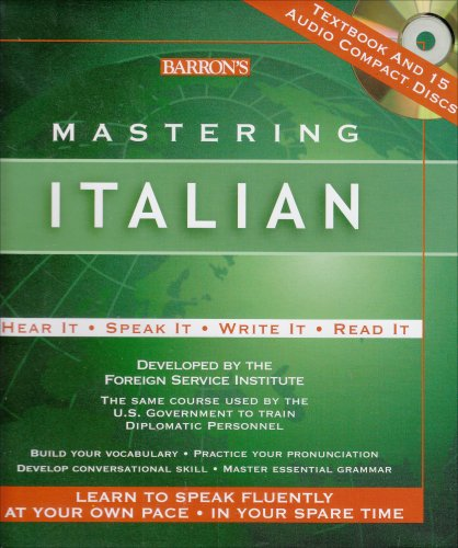Mastering Italian: with 15 Compact Discs (Mastering Series: Level 1 CD Packages) ()
