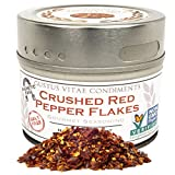 Gustus Vitae Crushed Red Pepper Flakes, Non-GMO Seasoning,1.2 Ounce