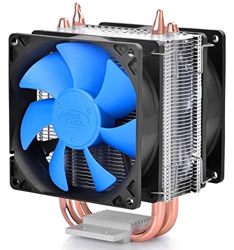 DEEPCOOL ICE BLADE 200M CPU Cooler Dual 8mm Heatpipes 2x 92mm Fans INTEL/AMD AM4 Compatible
