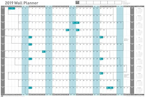 Wall Planner 915x610mm Mounted