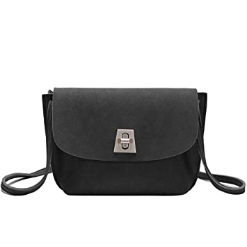 c3f7c2b8e789 Amazon.com  Adagod Women Small Shoulder Bag Turn Lock Bag Fashion Trend  Wild Messenger Bag  Computers   Accessories