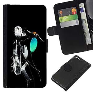 // PHONE CASE GIFT // Moda Estuche Funda de Cuero Billetera Tarjeta de crédito dinero bolsa Cubierta de proteccion Caso Apple Iphone 5C / Neon Abstract /