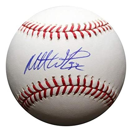 Balls Matt Wieters Signed Official Mlb Ball Auto Orioles Autographs-original