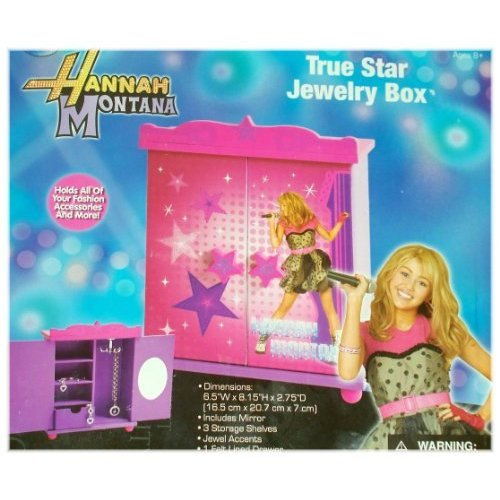 Hannah Montana True Star Jewelry Box (Hannah Jewelry Montana)