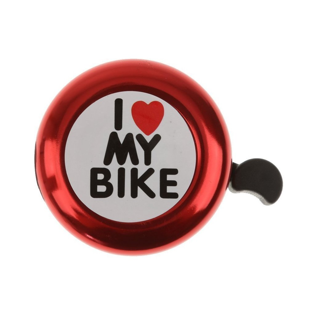 Aluminum Bicycle Bike Bell Ring Horn Accessories, Clear Sound Loud Fits Adults Youth Kids Mountain Road Bike Bell (Black) Hebei jinhua
