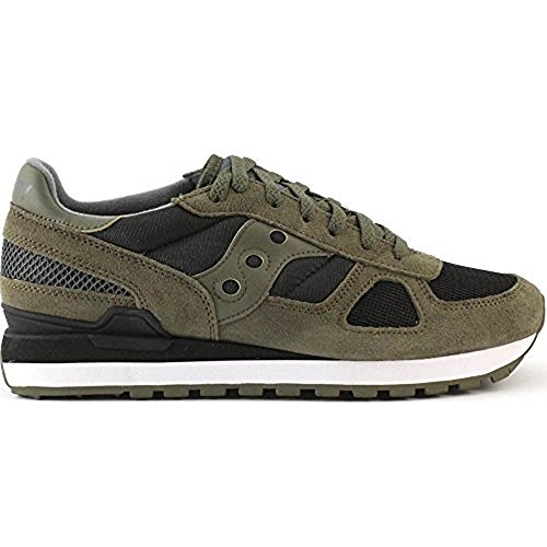 Shadow Original Homme Baskets Black Noir Basses Saucony Olive FBwqdF