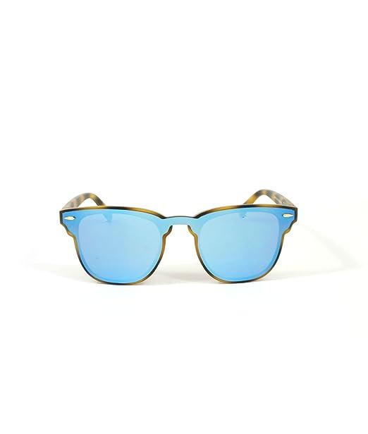Owl Gafas de sol (Carey, azul): Amazon.es: Ropa y accesorios