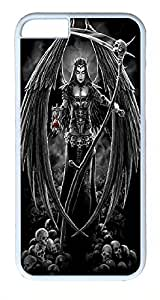 ACESR Angel Of Death iPhone 6 Hard Shell Case Polycarbonate Plastics Nice Case for Apple iPhone 6(4.7 inch) White