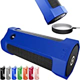 Amazon Tap Case Sling Cover [Anti-Roll] Easily Dock on Your USB Charger Cradle Base Now With The Best Bottomless Silicone Design by CUVR (Blue)