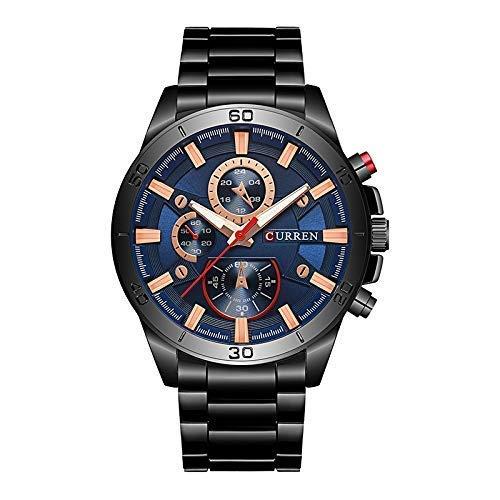Curren Black Dial Analog Wrist Watch for Men