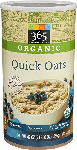 365 Everyday Value, Organic Quick Oats, 42 Ounce