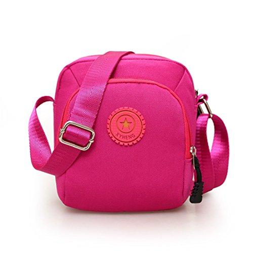 Dunland Mujeres Bolso De Cuero Para Mujer Tipo Ocio Mini bolso de la lona A La De Chica Señora Universidad Multicolor2