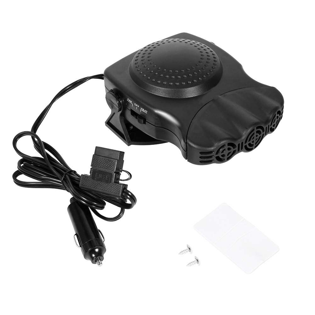 2IN1 Portable Car Heating 12v 150W Quick Natural Wind Defroster With Three Outputs Car Heater