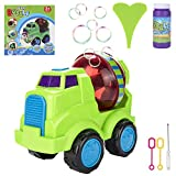 Buluri Automatic Bubble Machine, Portable Bubble Blower Toys for Kids Toddlers for Parties and Outdoor Activities