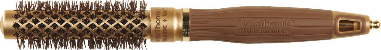 Olivia Garden Haar-Rundbürste NanoThermic, 64/90 mm mit Keramikkörper BR-NT1PC-TH064