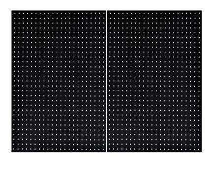 "Pegboard Panels Wall Storage Kit in 48""- 72"" Widths Panel Set Garage Organizer (2)"