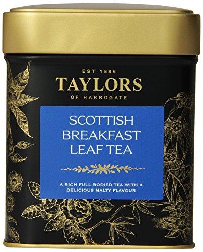 Taylors of Harrogate, Scottish Breakfast, Loose Leaf, 4.41-Ounce Tins (Pack of (Harrogate Scottish Breakfast)