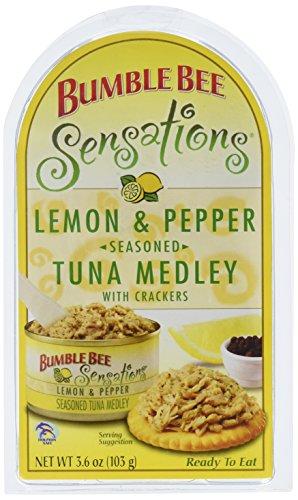 (Bumble Bee Tuna, Lemon and Cracked Pepper, 3.6 oz)