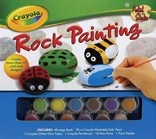 Crayola Artist Studio: Rock Painting by Silver Dolphin Books (Image #2)