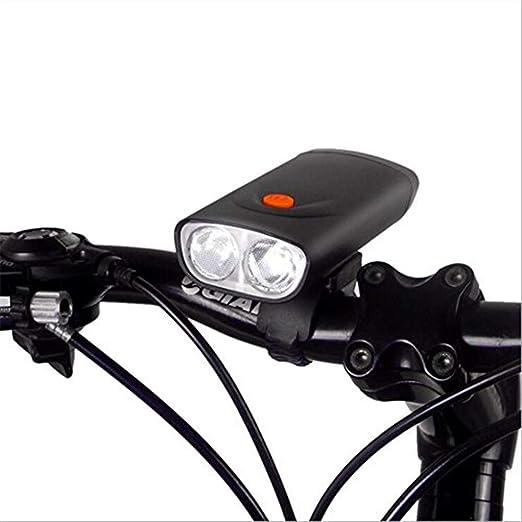 Luz de bicicleta Luz de bicicleta recargable USB IPX6 Linterna de ...