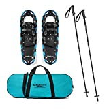 #10: Lucky Bums Youth and Adult Snowshoes with Trekking Poles