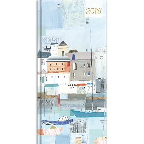 2018 By the Sea Pocket Diary - 3.34 x 6.8 x 0.47 Inches