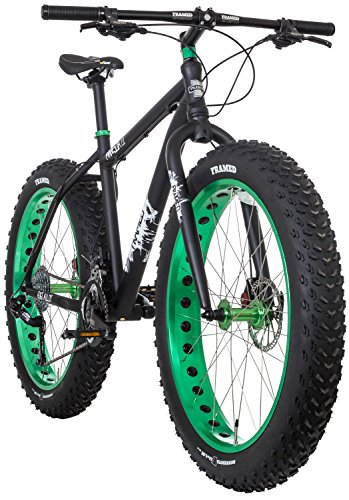 51KBvYODlDL - Framed Minnesota 2.0 Fat Bike Black/Green