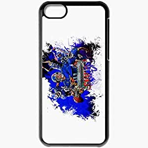 Personalized iPhone 5C Cell phone Case/Cover Skin 1344 new york giants 0 Black