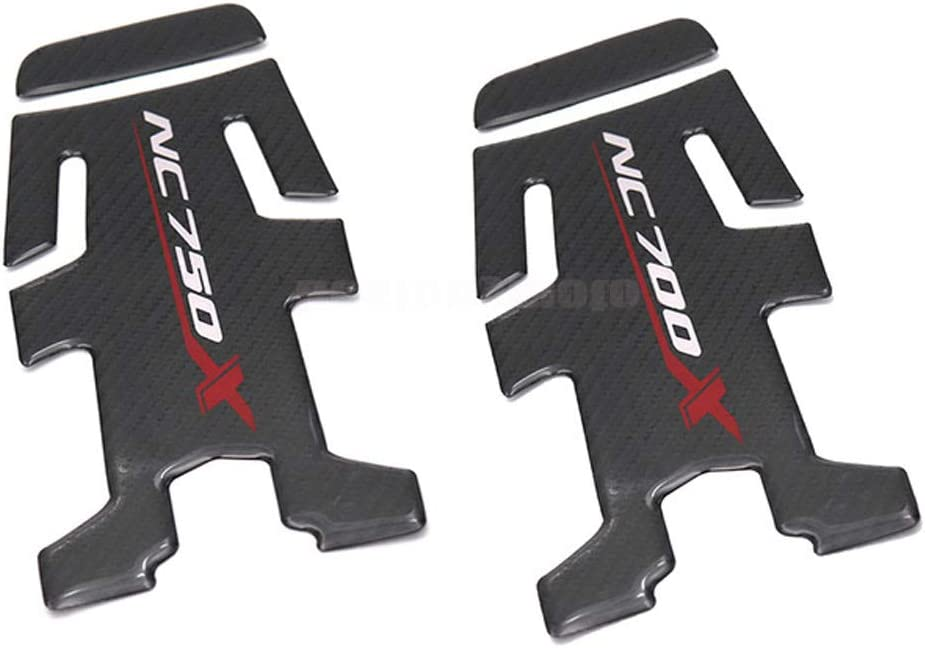 1pcs For NC750X NC 750X NC700 NC700X Motorcycle Accessories Carbon Fiber Oil Fuel Gas Tank Pad Tankpad Decal Protector Sticker NC700X