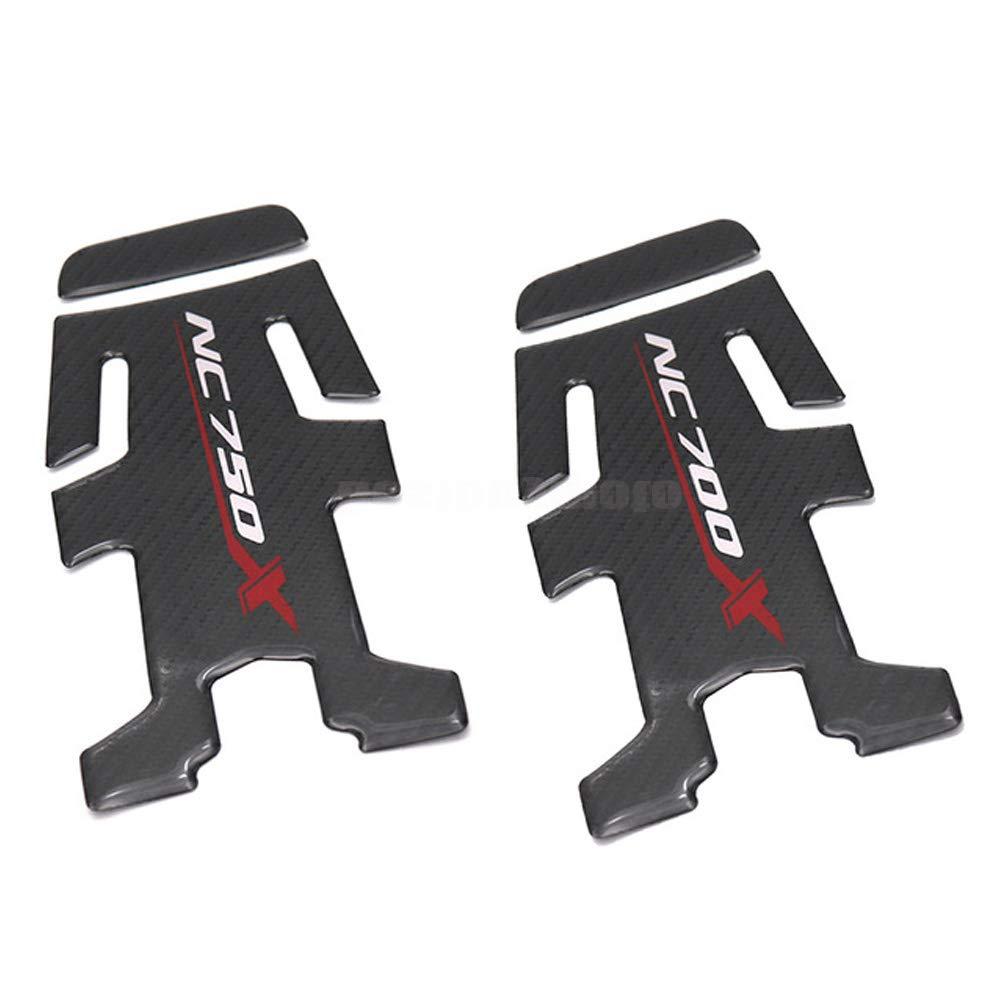 NC700X Motorcycle Accessories Carbon Fiber Oil Fuel Gas Tank Pad Tankpad Decal Protector Sticker For HONDA NC750X NC 750X NC700 NC700X
