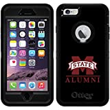 Mississippi State - Alumni design on Black OtterBox Defender Series Case for iPhone 6 Plus and iPhone 6s Plus