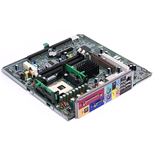 Genuine Dell K0057 Dimension 2400c, Dimension 4600c Small Form Factor (SFF) Systems Motherboard Logic Board Dell Compatible Part Numbers: (865g Socket)