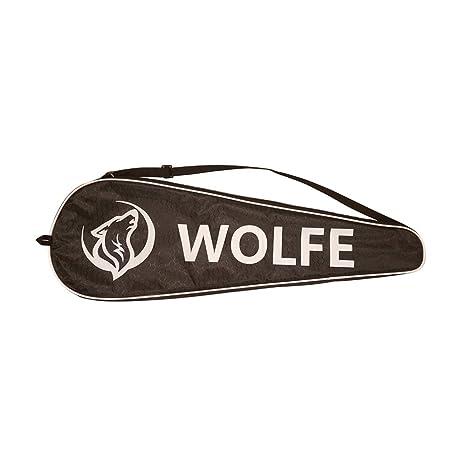 Amazon.com: Wolfe grafito raqueta de Squash