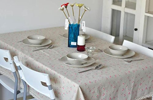Jingzou Cotton and linen, tablecloth (Minions Happy Easter)