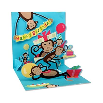 Amazon 3D Greeting Card