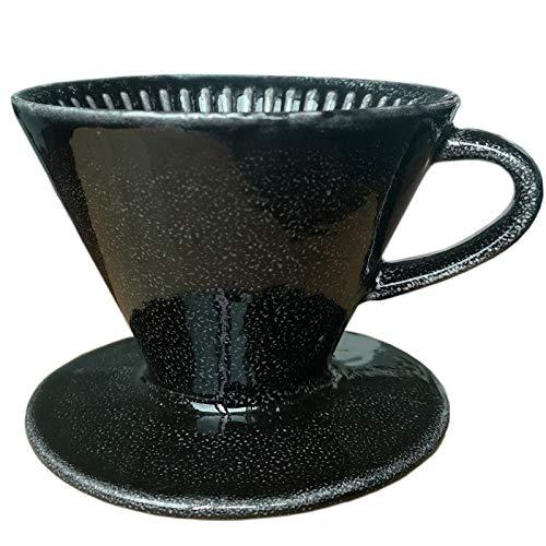 GYCC Versare sopra Aroma caffè aromatico caffè Filtro caffè Permanente, Filtro a Mano, Filtro caffè, Taglia 2, Nero offerta